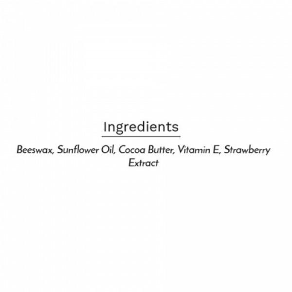 Sage Apothecary Strawberry Lip Balm, 8gm