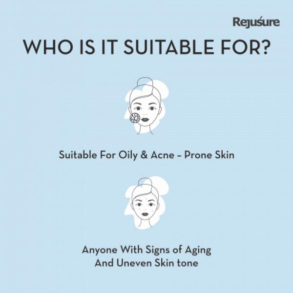 Rejusure Moisturizer for Active Acne, 50ml