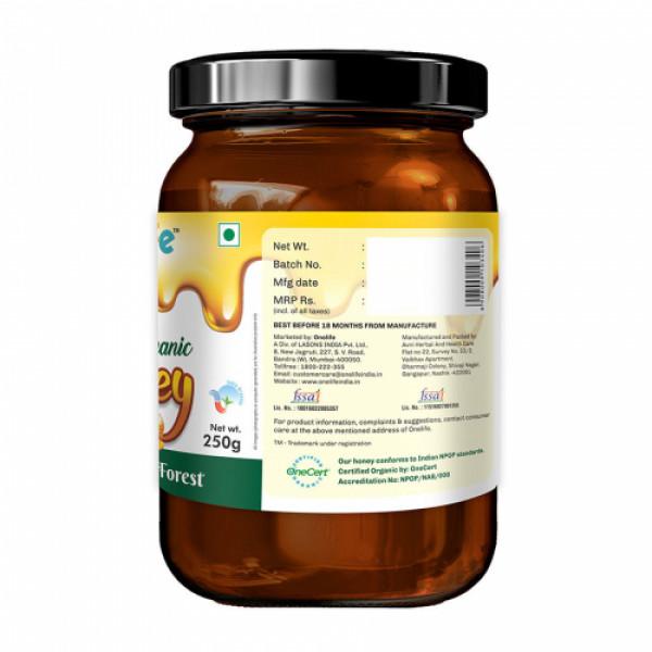 Onelife Wild Forest Organic Honey, 250gm