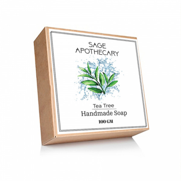 Sage Apothecary Tea Tree Soap, 100gm