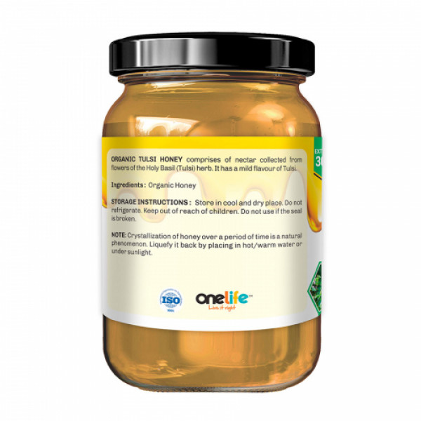 Onelife Tulsi Organic Honey, 650gm
