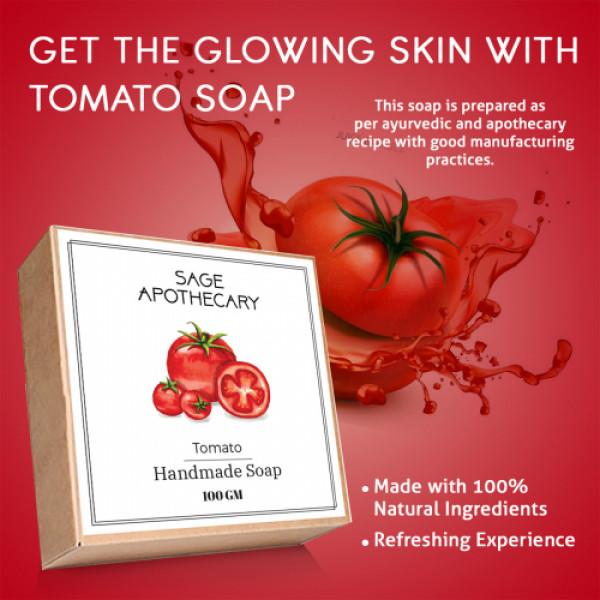 Sage Apothecary Tomato Soap, 100gm