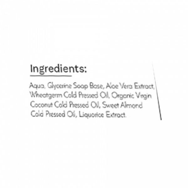 Sage Apothecary Liquorice Soap, 100gm
