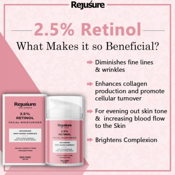 Rejusure Retinol Anti Aging Complex, 50ml