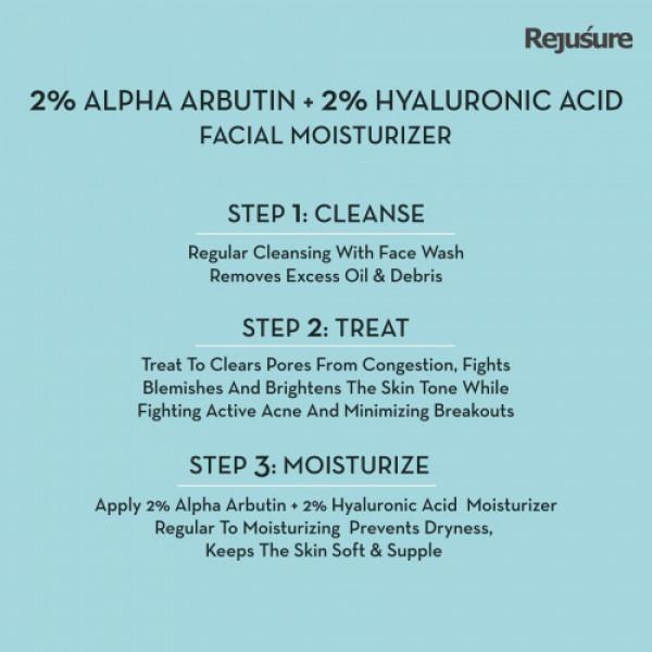 Rejusure Face Moisturizer For Pigmentation, 50ml