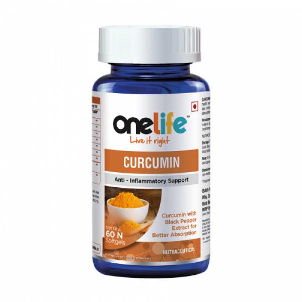 Onelife Curcumin, 60 Softgels