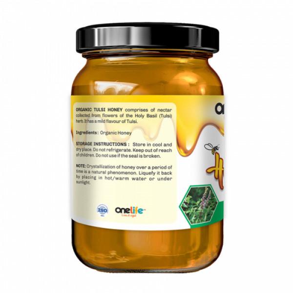 Onelife Tulsi Organic Honey, 250gm