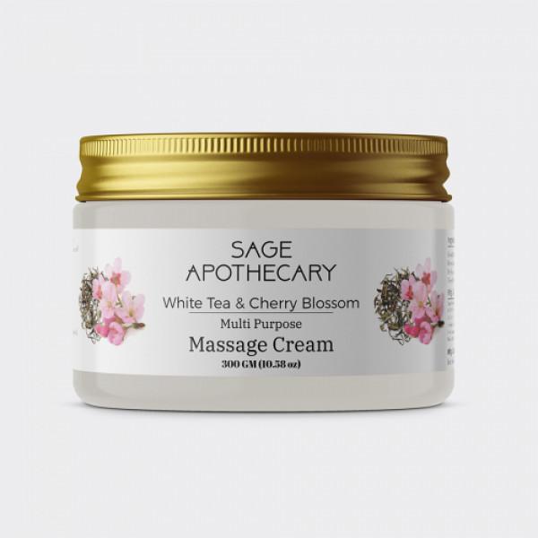 Sage Apothecary Massage Cream, 300ml