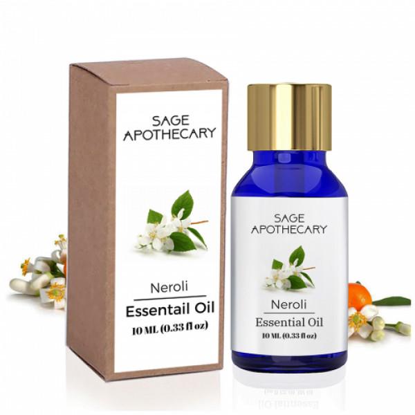 Sage Apothecary Neroli Essential Oil, 10ml