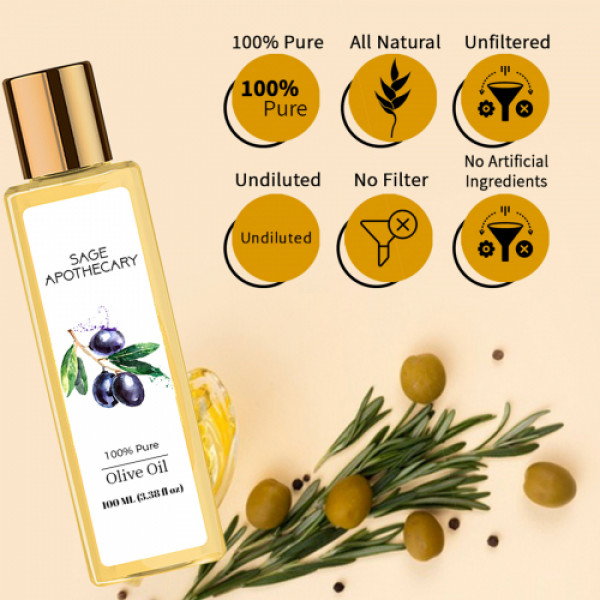 Sage Apothecary Olive Oil, 100ml