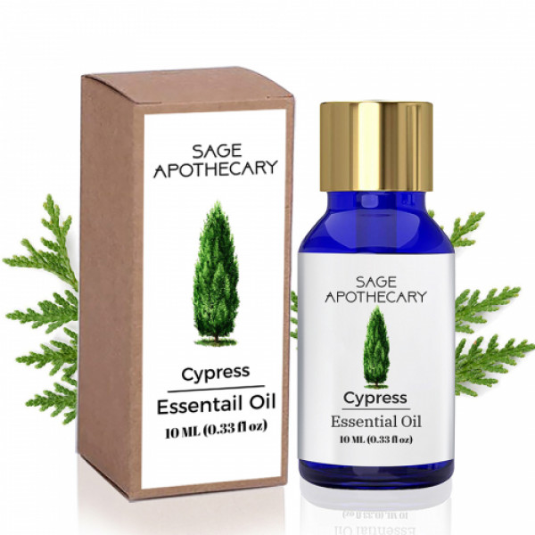 Sage Apothecary Cypress Essential oil, 10ml