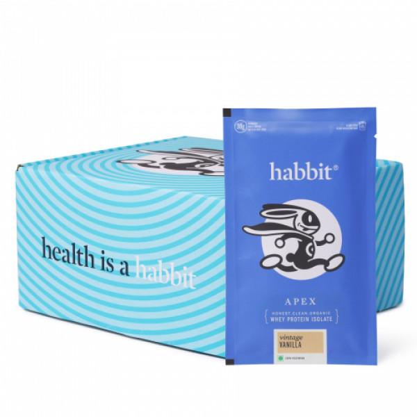 Habbit Apex Whey Isolate Protein Vintage Vanilla Powder, 900gm