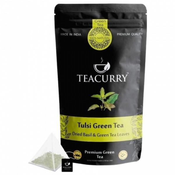 Teacurry Tulsi Green Tea, 100gm