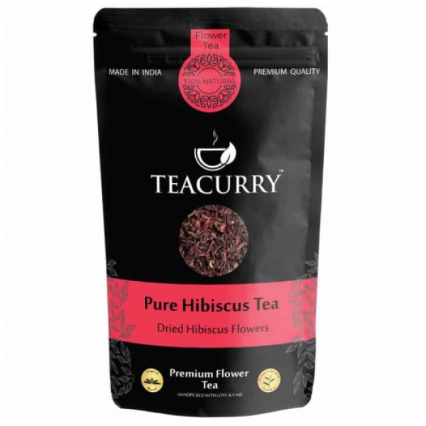 Teacurry Hibiscus Flower Tea, 60 Tea Bags