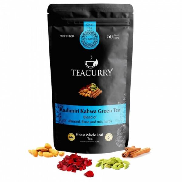 Teacurry Kashmiri Kahwa Green Tea, 60 Tea Bags