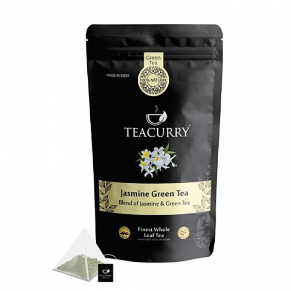 Teacurry Jasmine Green Tea, 60 Tea Bags