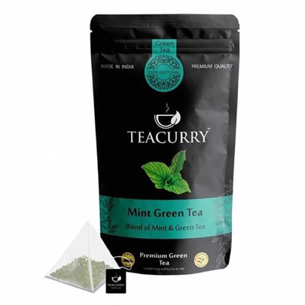 Teacurry Mint Green Tea, 200gm