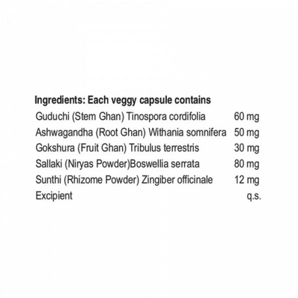 Nisarga Herbs Nartana, 60 Capsules