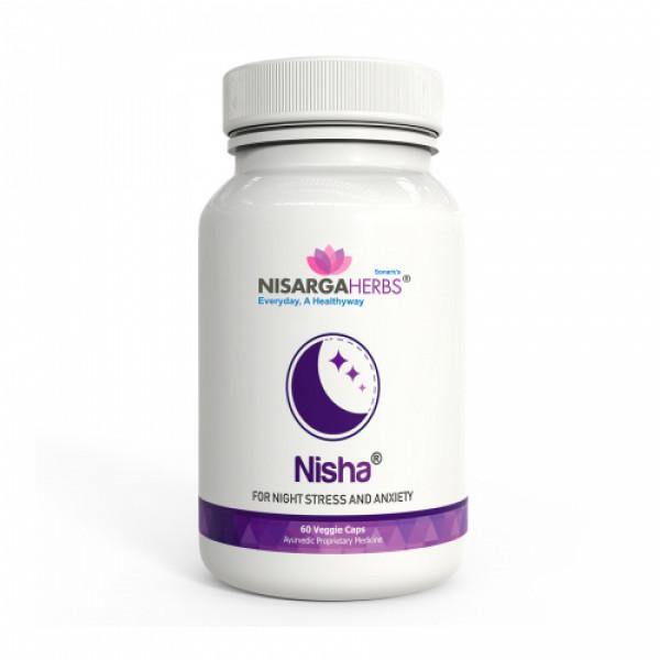 Nisarga Herbs Nisha, 60 Capsules
