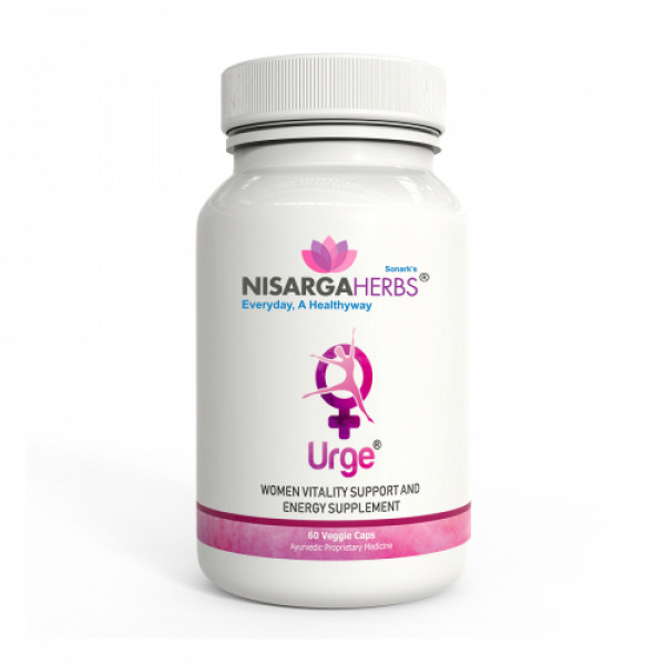 Nisarga Herbs Urge, 60 Capsules