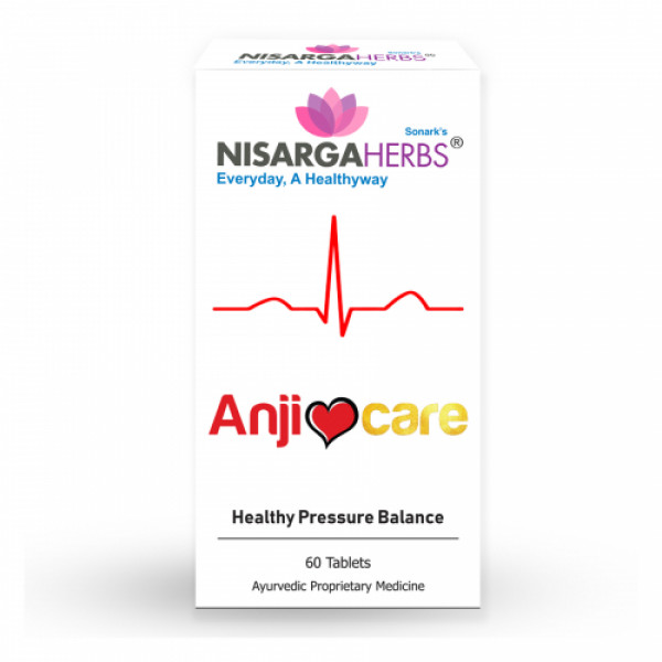 Nisarga Herbs Anjicare, 60 Capsules