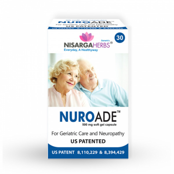 Nisarga Herbs Nuroade, 30 Capsules
