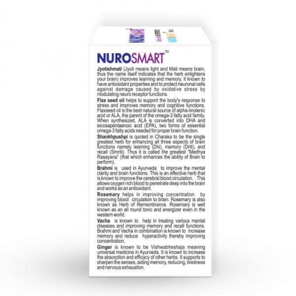 Nisarga Herbs Nurosmart, 60 Capsules