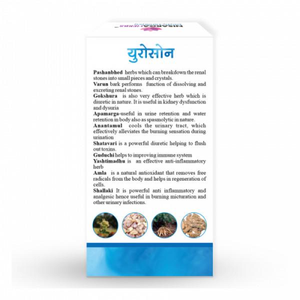 Nisarga Herbs Urosone, 60 Capsules