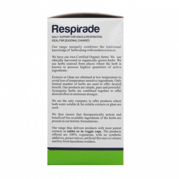Nisarga Herbs Respirade, 30 Tablets