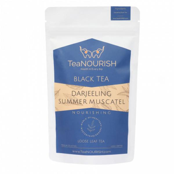 TeaNOURISH Darjeeling Summer Muscatel Black Tea, 100gm