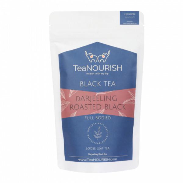TeaNOURISH Darjeeling Roasted Black Tea, 50gm