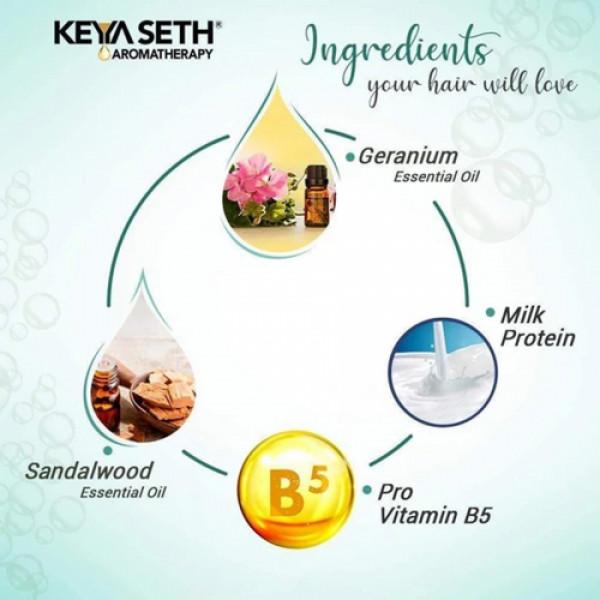Keya Seth Aromatherapy Intense Repair Shampoo for Soft & Silk Hair, 200ml