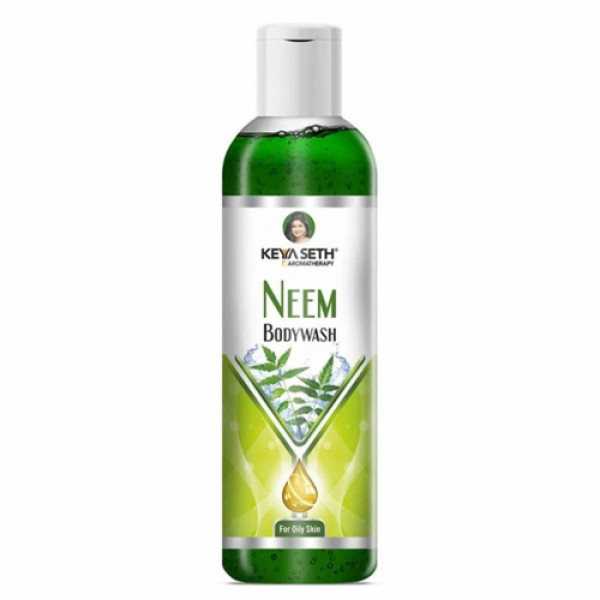Keya Seth Aromatherapy Neem Bodywash Gel for Oily Skin, 200ml