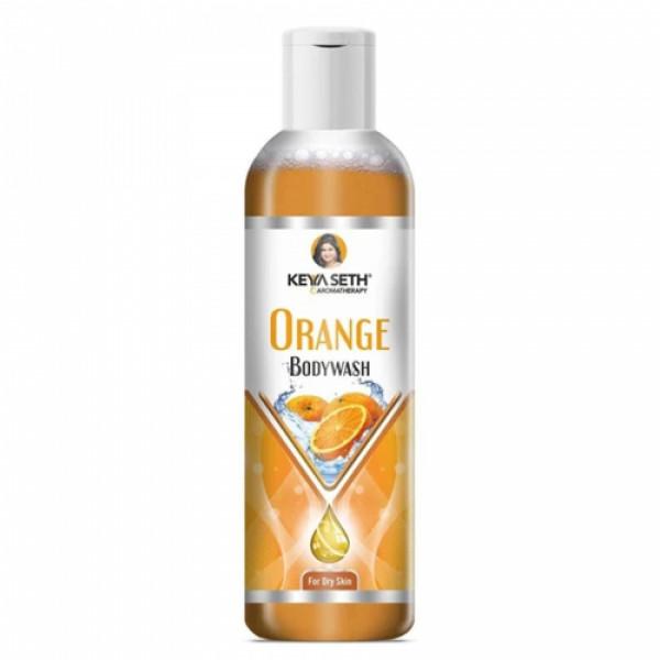Keya Seth Aromatherapy Orange Bodywash, 200ml