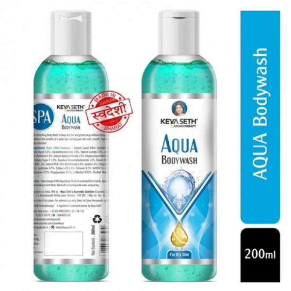 Keya Seth Aromatherapy Aqua Bodywash, 200ml