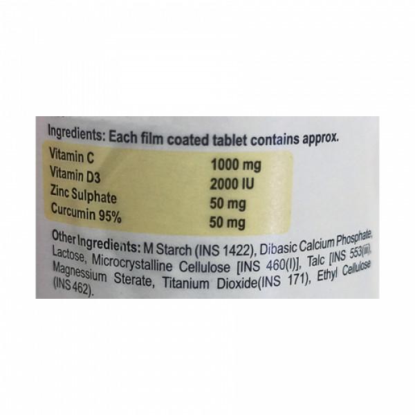 C-MUS Curcumin Immune Booster, 30 Tablets