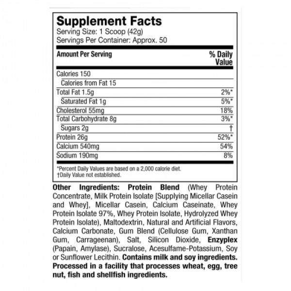 Muscletech Phase 8 Whey Protein Vanilla Shake, 2.09kg