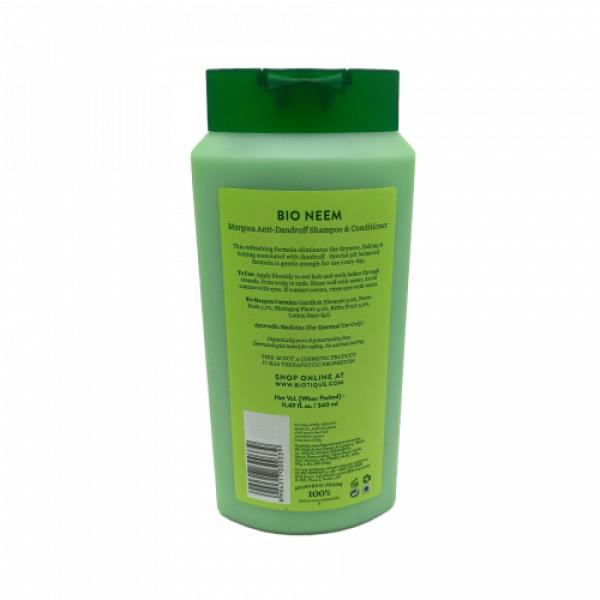 Biotique Bio Neem Margosa Anti Dandruff Shampoo & Conditioner, 340ml