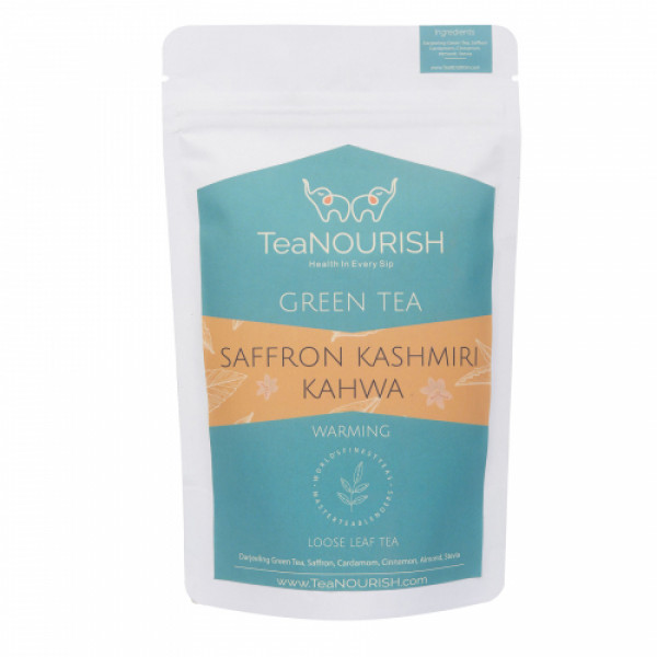 TeaNOURISH Saffron Kashmiri Kahwa, 100gm