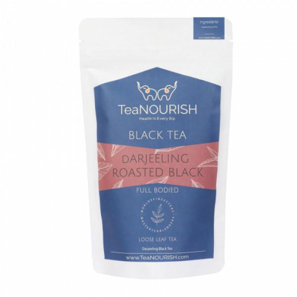 TeaNOURISH Darjeeling Roasted Black Tea, 100gm