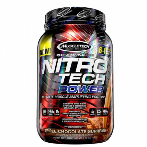 Muscletech Nitro Tech Power Triple Chocolate Supreme, 907gm