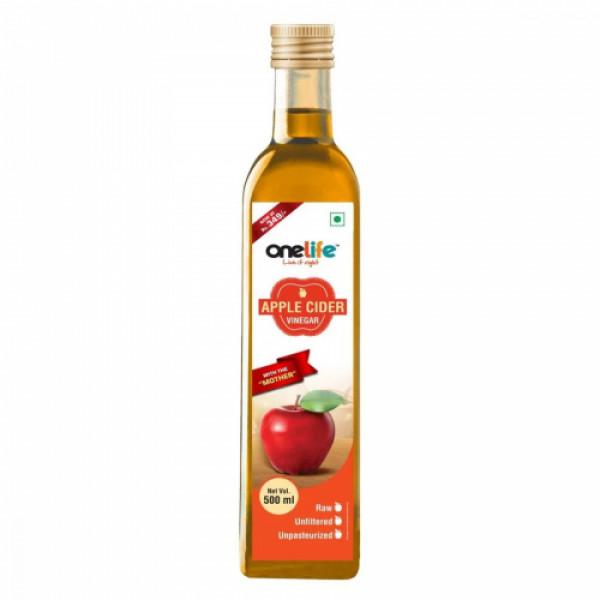 Onelife Apple Cider Vinegar, 500ml