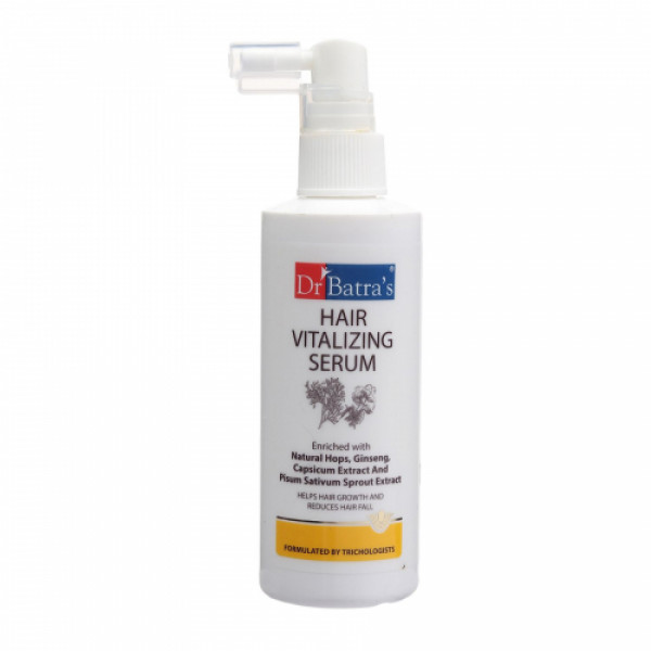 Dr Batra's Hair Vitalizing Serum, 125ml with Hair Fall Control Shampoo, 500ml Combo Pack