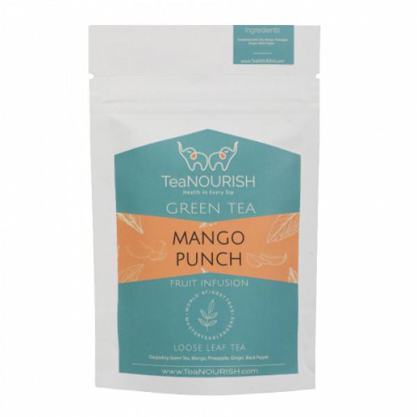TeaNOURISH Mango Punch Darjeeling Green Tea, 50gm