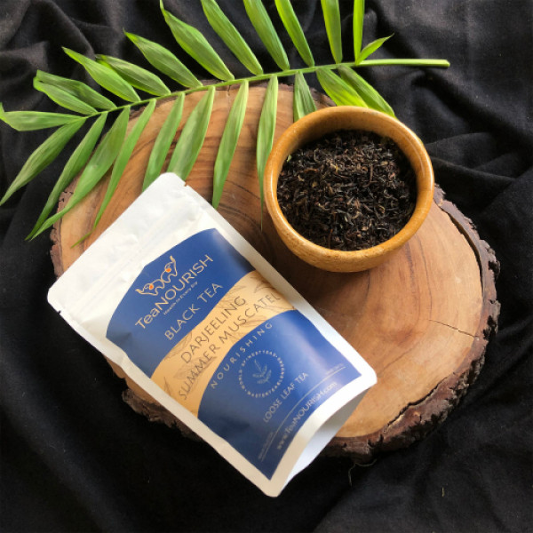 TeaNOURISH Darjeeling Summer Muscatel Black Tea, 50gm