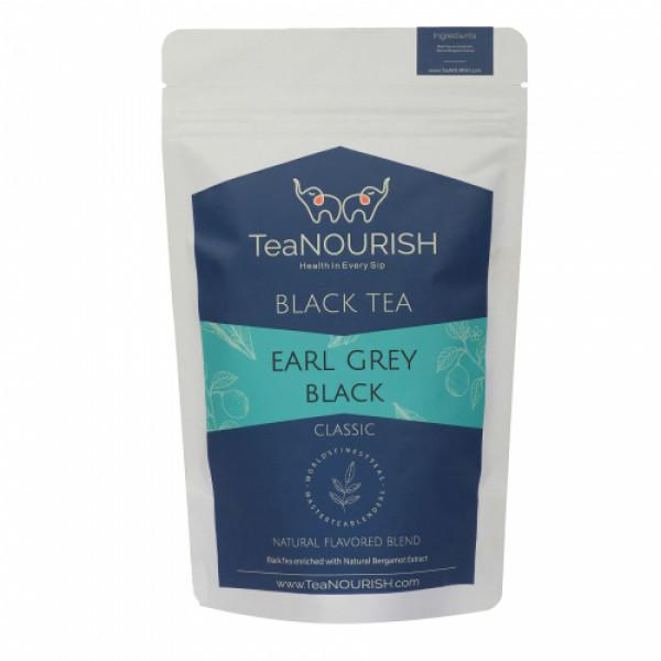 TeaNOURISH Earl Grey Black Tea, 100gm