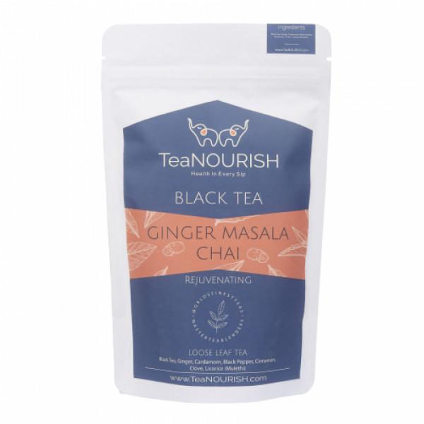 TeaNOURISH Ginger Masala Chai Tea, 100gm