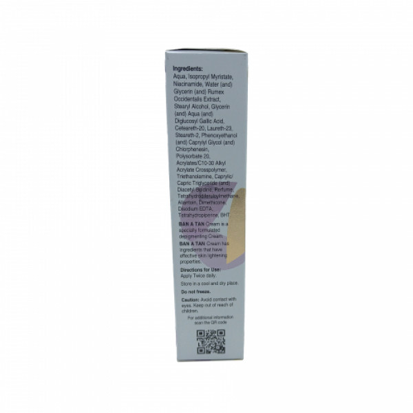 Ban A Tan Cream, 50 gm