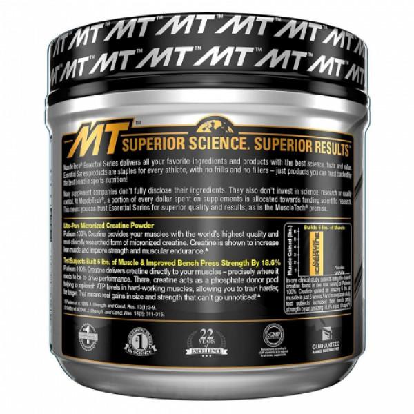 Muscletech Platinum Creatine Powder Unflavoured, 400gm