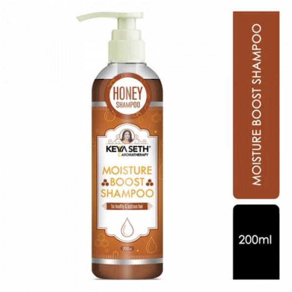 Keya Seth Aromatherapy Hair Care Combo, 420ml (Penta Active10 + Moisture Boost Shampoo +Hair Vitalizer)